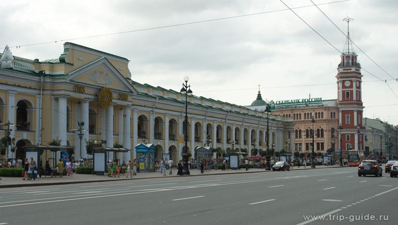 Санкт петербург гостиный двор фото