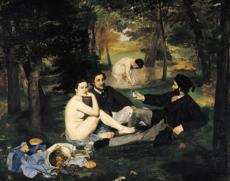 conceptual anaylsis of manets luncheon on Luncheon on the grass painting: why this painting is considered important in manet's.