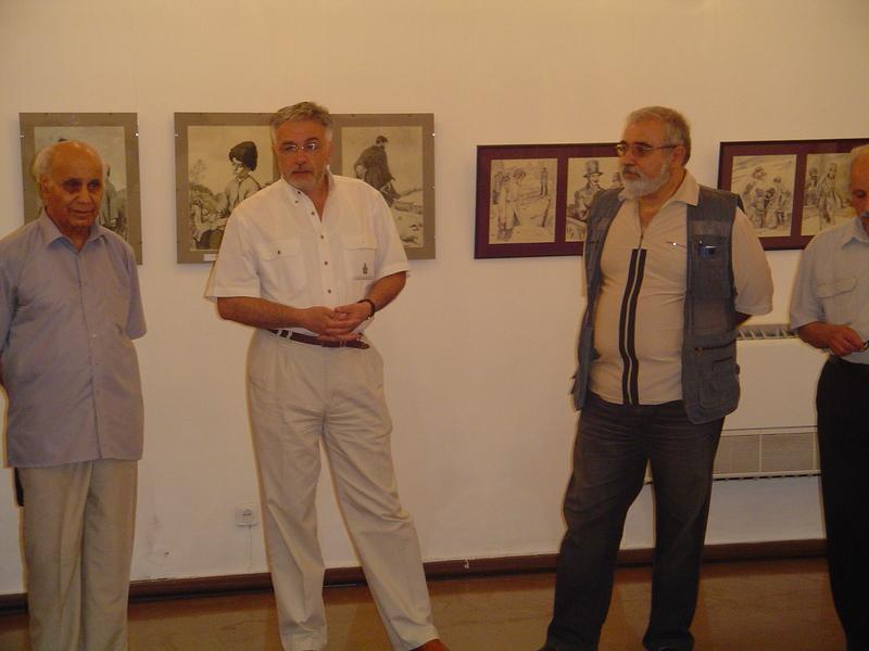 Ձախից՝ Գ․ Աղասյան, Ա․ Իսաբեկյան, Տ․ Սոսոյան