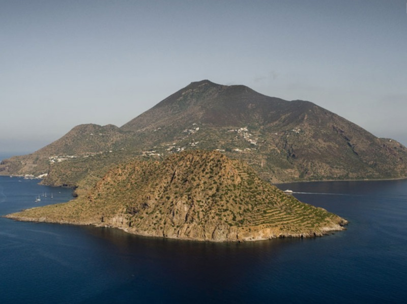 Foto aerea di Filicudi (foto Italia.it)