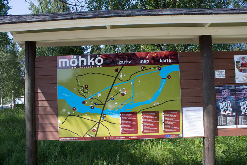 Information Sign The Map Of Mohko Izi Travel