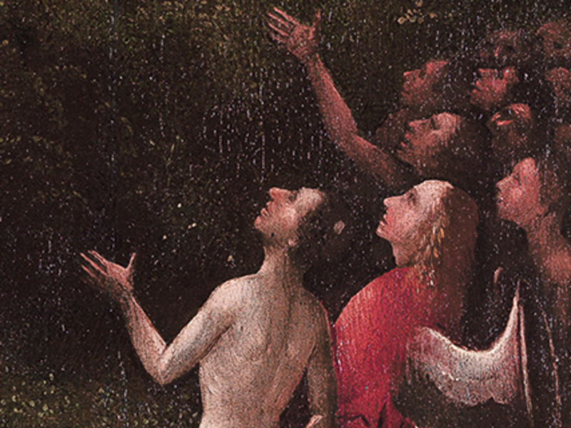 Hieronymus Bosch « Visions of the Hereafter» - Terrestrial Paradise (fragment)