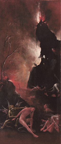 Hieronymus Bosch « Visions of the Hereafter» - Hell