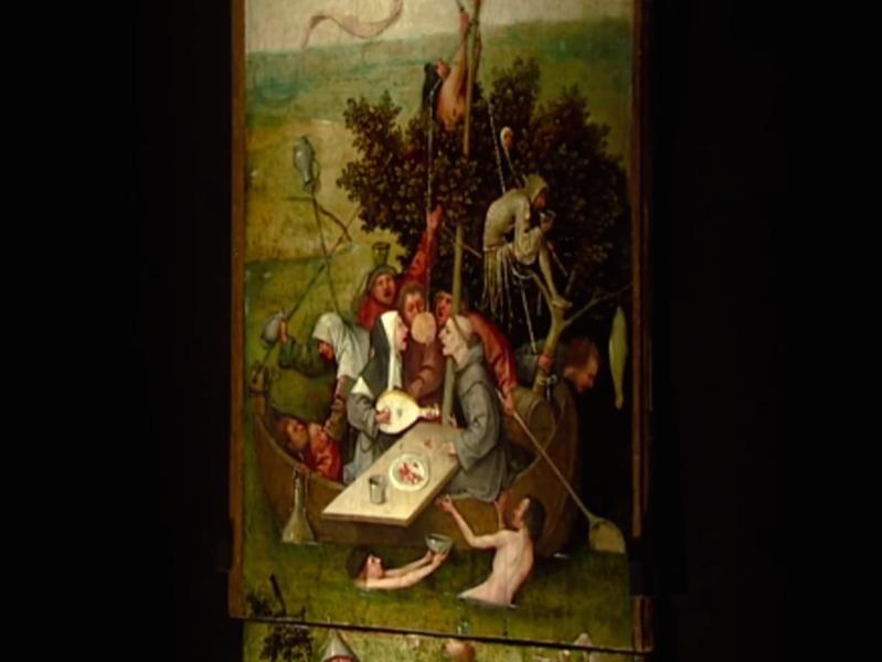 El Bosco La Nave De Los Locos 1490 1500 Museo Del Louvre Paris