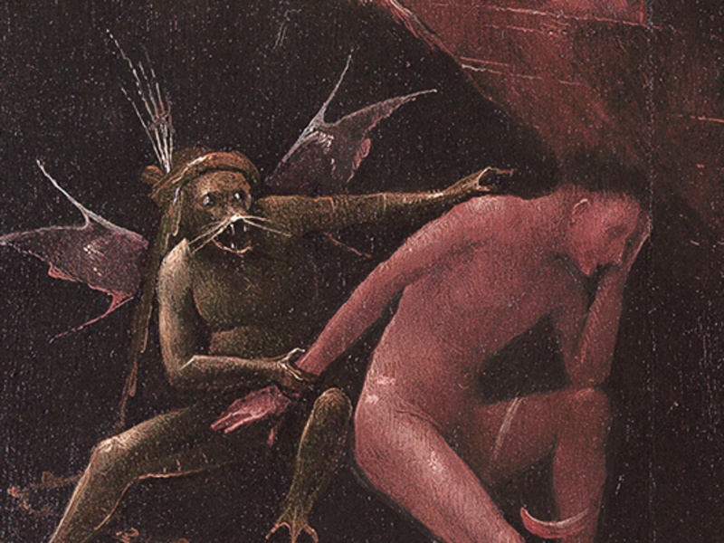 Hieronymus Bosch « Visions of the Hereafter» - Hell (fragment)