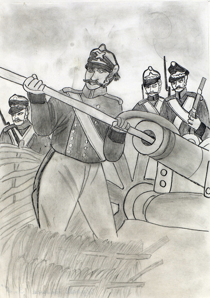 иллюстрации к бородинскому сражению лермонтова лилии фото