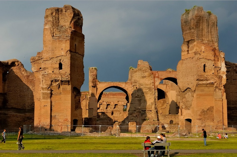 the baths of caracalla essay Reasons why to visit rome essay no works cited length: 580 the baths of caracalla were ranked second in size to the baths of diocletian and were under top notch.