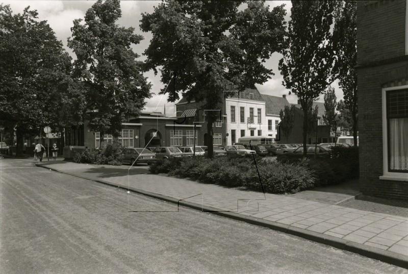 1988: zicht op de Hofstraat (foto: beeldbank HKIJ)