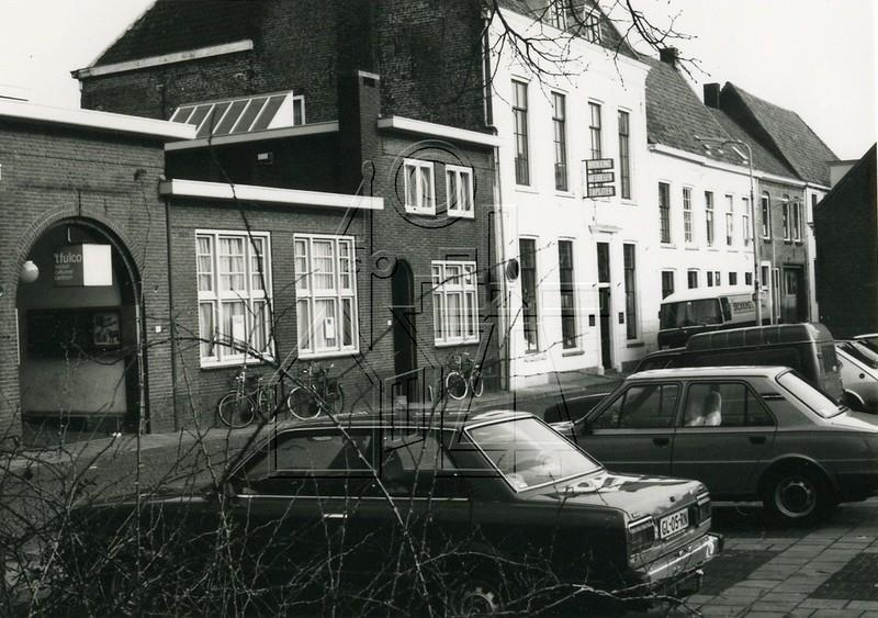 1980: het Fulcotheater naast Hofstraat 8 (foto: beeldbank HKIJ)