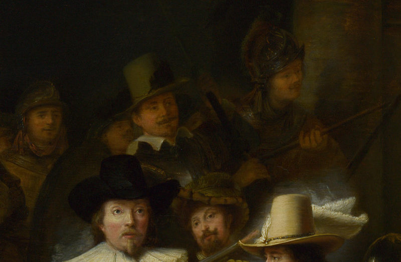 the night watch The night watch has its own personal escape route museum fires have caused the loss of great works of art, so amsterdam's rijksmuseum has gone to great lengths to protect rembrandt's masterpiece.