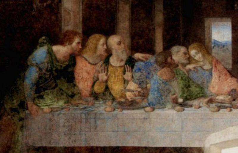 да Винчи, «Тайная вечеря»