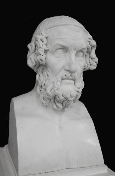 Всё про гомера гревнегреческого бюста
