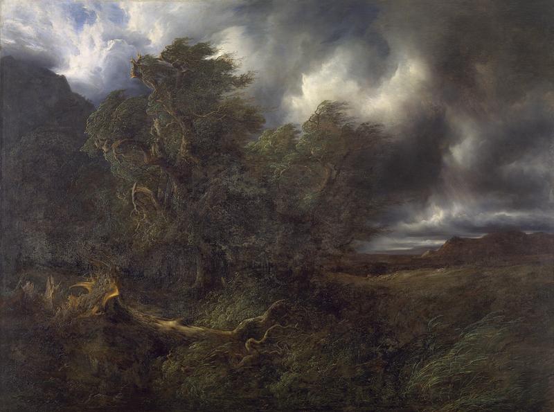 Sturm Handeck, Alexandre Calame und Die Eiche und das ... Das Schilfrohr