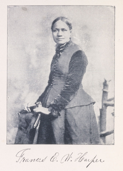 "Frances Ellen Watkins Harper, from ""Iola Leroy, or Shadows uplifted"" (Boston, 1892)."