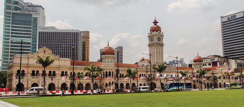 Здание султана Абдул-Самада, Куала-Лумпур | izi.TRAVEL