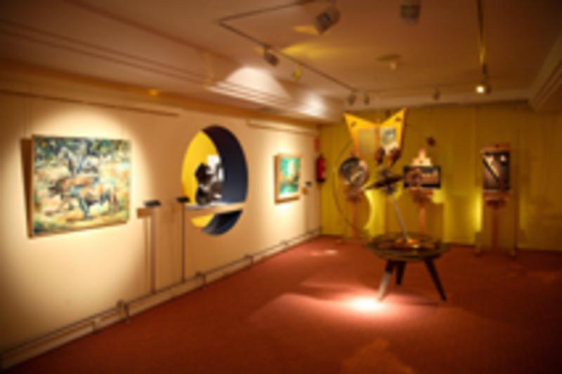 Sala de Artistas. Courtesy of Museo Tiflológico