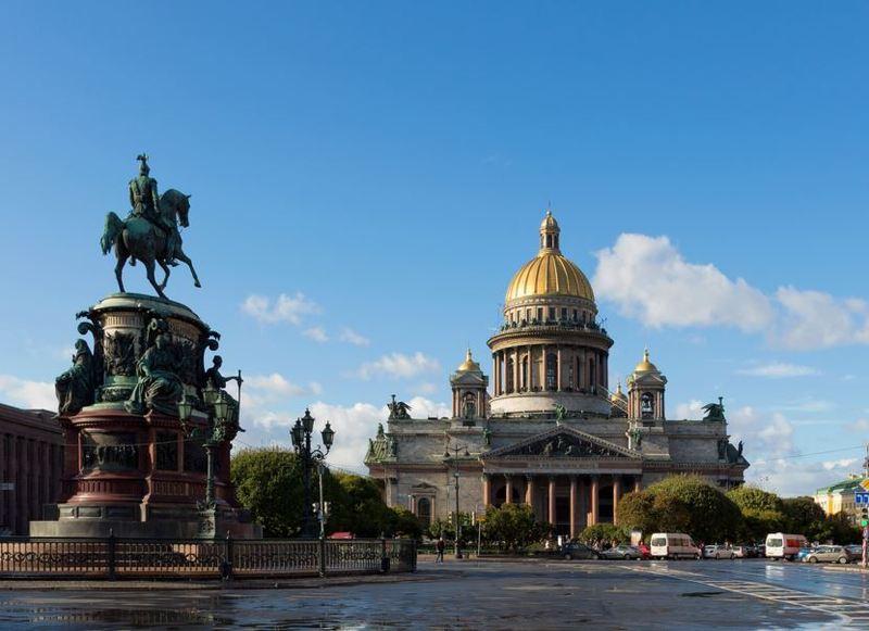 Знакомство С Санкт Петербургом Начать